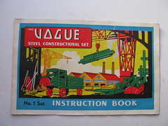 vogue no 1 instruction book cover (meccanohig) Tags: steel vogue sets constructional