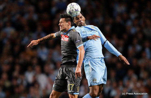 Lescott in action