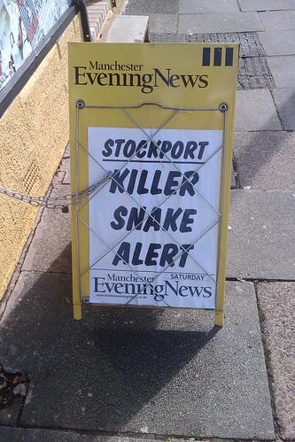 Snake Alert