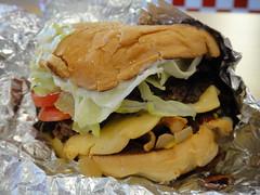 Five Guys - Regular Bacon Cheeseburger