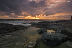 Dunraven Bay (Axleuk) Tags: sunset storm beach water southwales wales clouds sand rocks cliffs drama dunravenbay canon7d