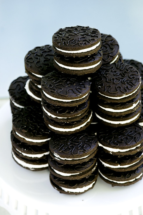 Faux Oreo Cookies