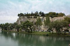 Vue depuis le Pont d'Avignon (Dephine Pbn) Tags: river rhône pont avignon vue rocher ville fleuve pontdavignon rocherdesdoms