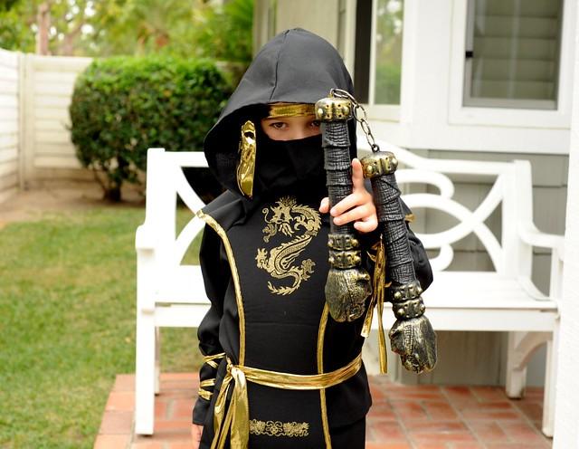 Angry Kid as Ninja Warrior