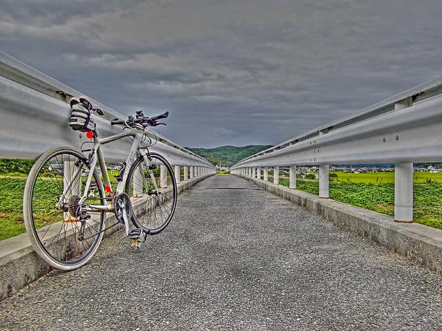 足守川にかかる橋
