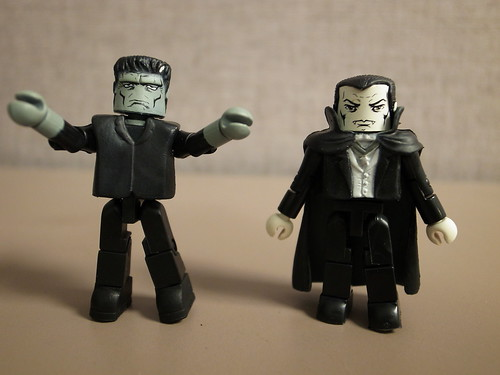 Frankenstein's Monster and Dracula