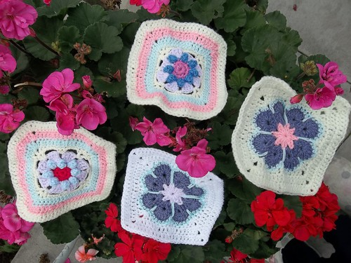 Beautiful Flower Squares!