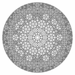 Fractal Apollonian Gasket (fdecomite) Tags: circle packing math fractal gasket descartes povray tangent recursivity imagej tangency apollonian apollonius