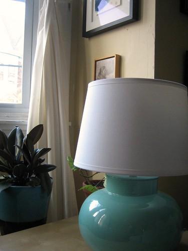 Thrift Store Lamp