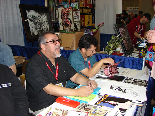 Fantagraphics Booth at San Diego Comic-Con 2011