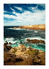 Sea II. (Botond Horvth) Tags: ocean sea summer storm nature rock landscape coast spain sand nikon europe sigma galicia shore 1020mm tengerpart 2010 coruna filtered cokin d90 botond horvth spanyolorszg