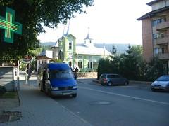 Estrada para o Mosteiro de Humorului, Roménia