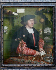 Hans Holbein dJ - The merchant Georg Gisze (1532) (petrus.agricola) Tags: berlin hans der merchant kaufmann georg merchand gemäldegalerie holbein jüngere gisze