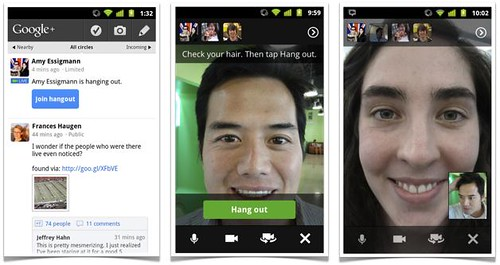 Google+ Mobile Hangout