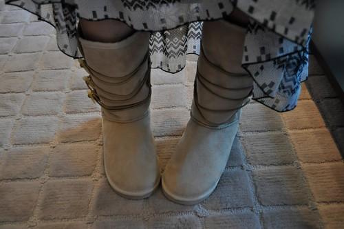 アニタ アレンバーグ ブーツ