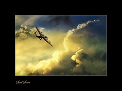 Flying Home (Steel Steve) Tags: aircraft bomber avrolancaster