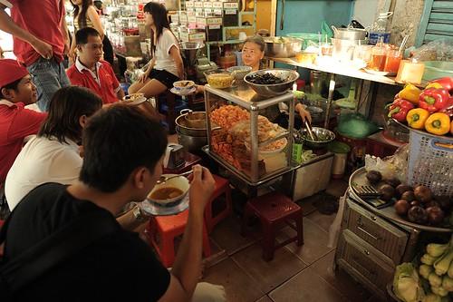 Food Stall at Ben Thanh Market