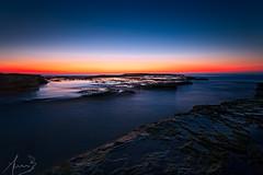 Turimetta Sihouette (sachman75) Tags: seascape water silhouette sunrise dawn rocks waves australia nsw newsouthwales narrabeen firstlight northernbeaches turimettabeach canon5dmarkii wariewood singhrayreversendgrad3stops leefiltersndgrad3stops