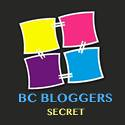 BC BLOGGER'S BADGE