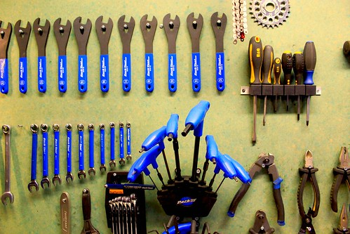 Bicycle workshop tools
