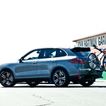Everyday Cayenne Turbo<br>Image © Anthony Smith/Bike Magazine