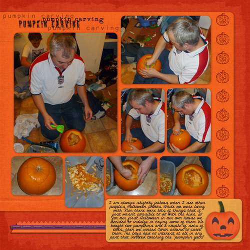 Pumpkin Carving 1 by Lukasmummy