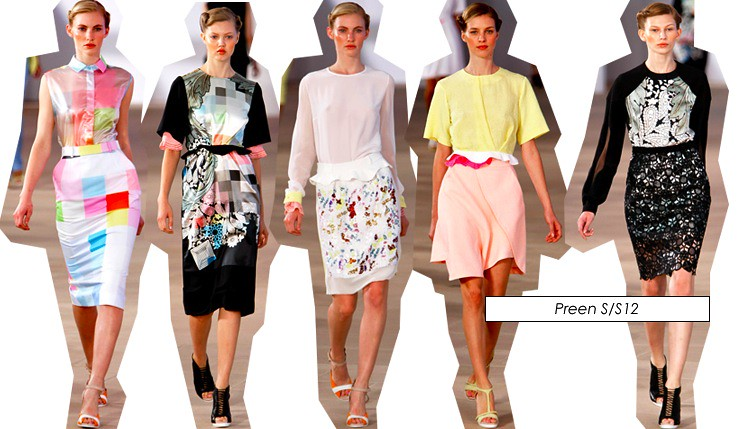preen new york fashion week 2012 ss12 collection