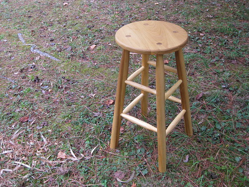 tall poplar stool