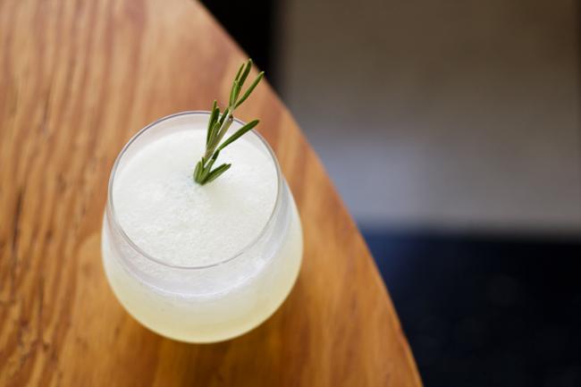 Rosemary Lemonade Gin Slushes