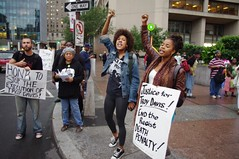 Troy Davis protest in Philadelphia