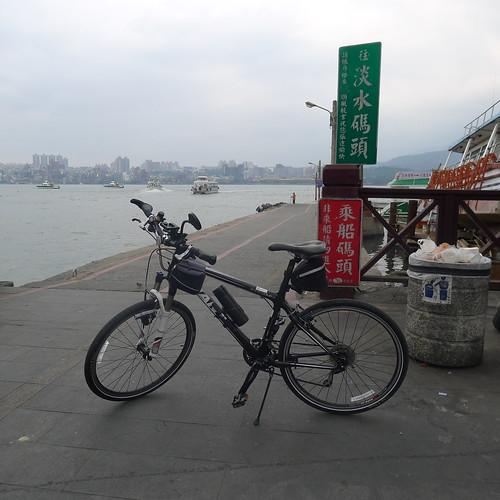八里渡船頭--至淡水碼頭