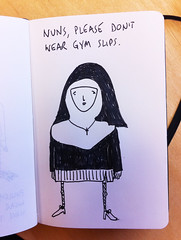 Nuns, please don't wear gym slips (I am Cheapskate) Tags: sexy stockings nun gym extracts slips cheapskate