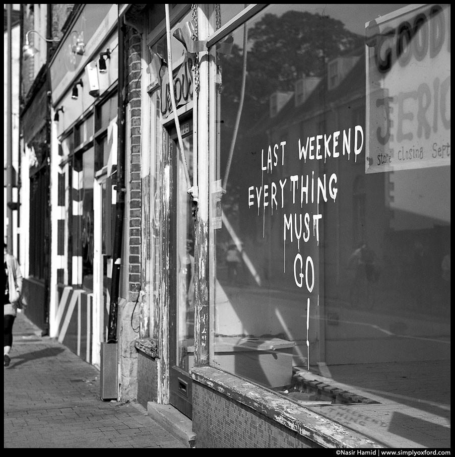 Liscious, Walton Street, RIP
