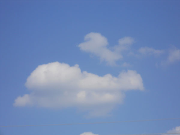 Cloud Drawing - Bun Loaf
