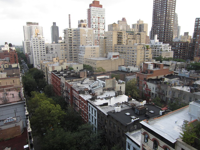 NYC Apartment Agent: View from a three-bedroom condo for sale