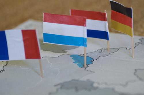 Nachbarländer von Belgien