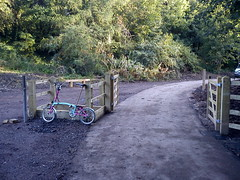 Five Arches Greenway Construction - Opening Day -1 (WestfieldWanderer) Tags: geotagged cyclepath radstock midsomernorton geo:lon=2476902 5archesgreenway geo:lat=51285181