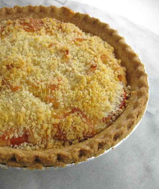 tomato pie with panko