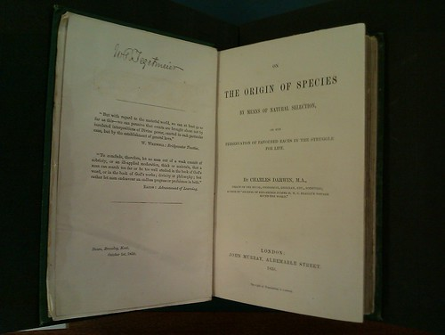 The Origin of Species, the first edition
