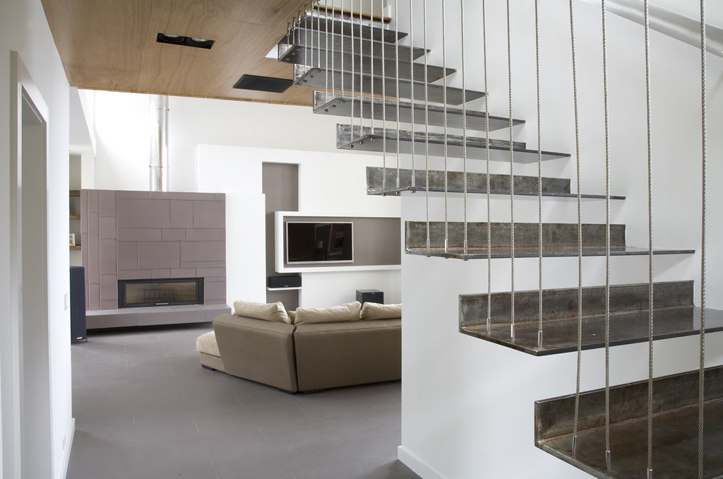 Stairs indoors