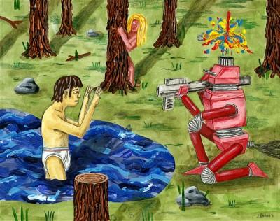 GR2 Robots Show