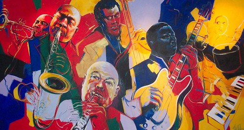 Jazz Wall Mural - Painting - Original