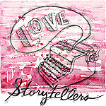 storytellers button pink