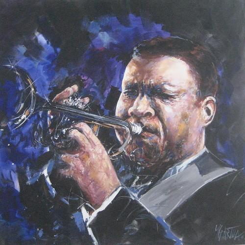 Jazz Player - Painting