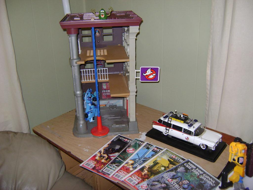 Ghostbusters Corner