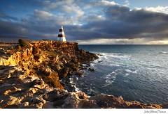 Australia (john white photos) Tags: sunset sea wild robe australia cliffs southeast southaustralia limestonecoast robeobelisk