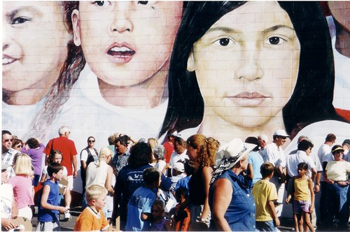 United by Our Children - Ely Nevada Mural