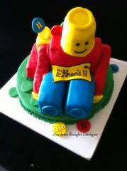 Lego man (jordene.knight) Tags: lego kidscake legomancake