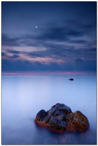 longexposure italy seascape monster rock stone sunrise... (Photo: ciccioetneo on Flickr)