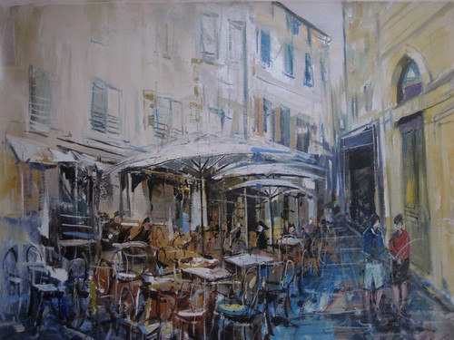 Old Cannes - Painting - Impressionistic